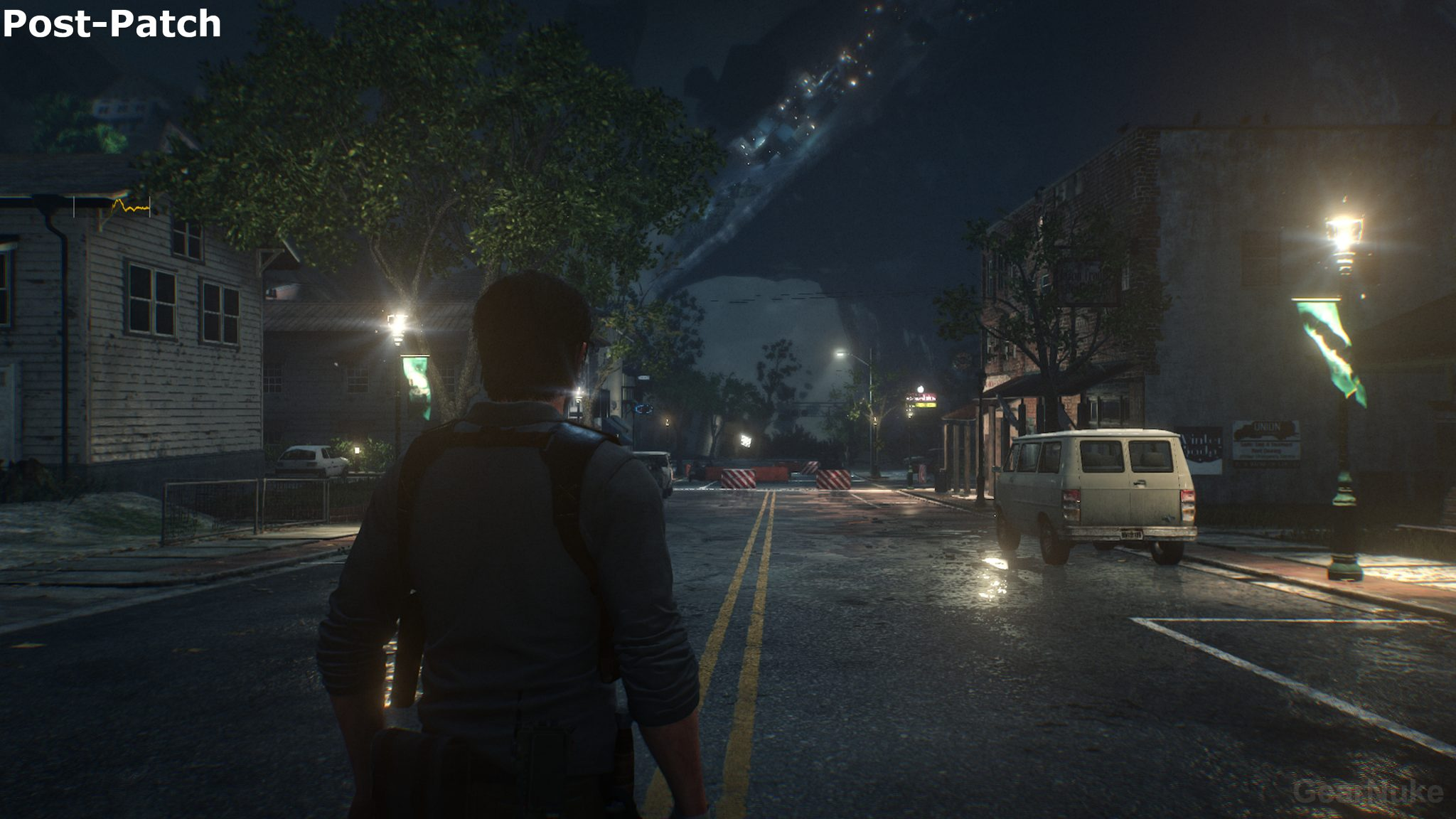 The Evil Within 2 Pre vs. Post PS4 Pro Patch 4K Screenshot Comparison