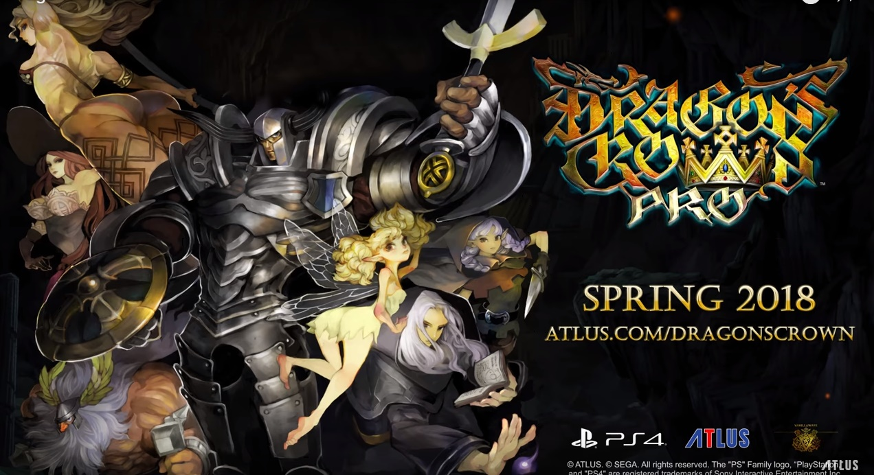 Dragon's Crown Pro coming to North America in Spring 2018