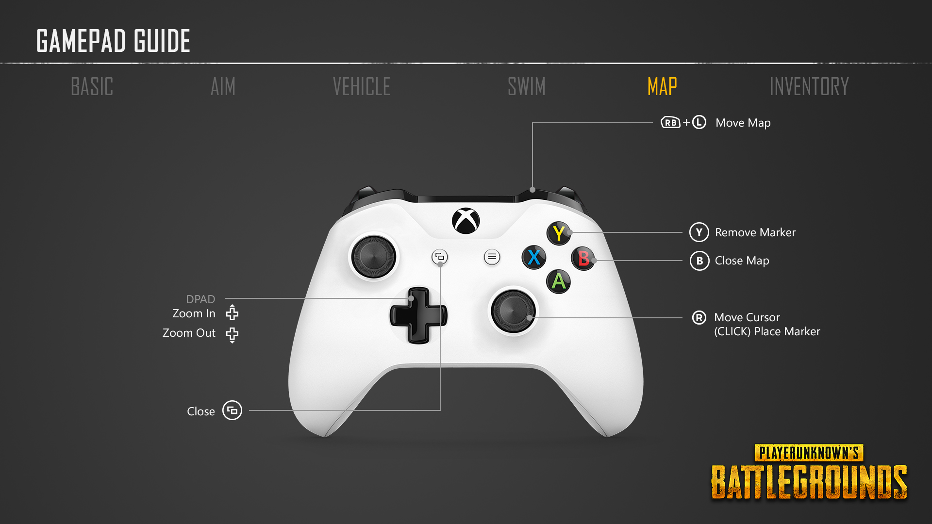 Playerunknown S Battlegrounds For Xbox Controls Revealed: PlayerUnknown's Battlegrounds Controller Layout And