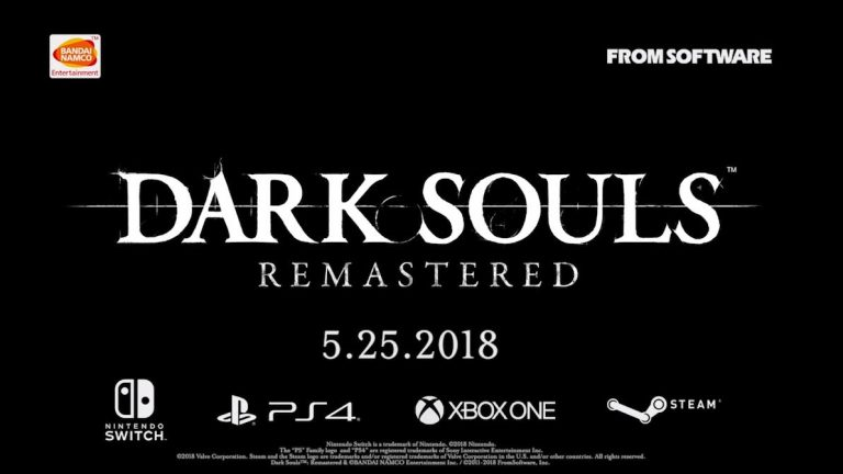 Dark Souls Remastered will be announced today