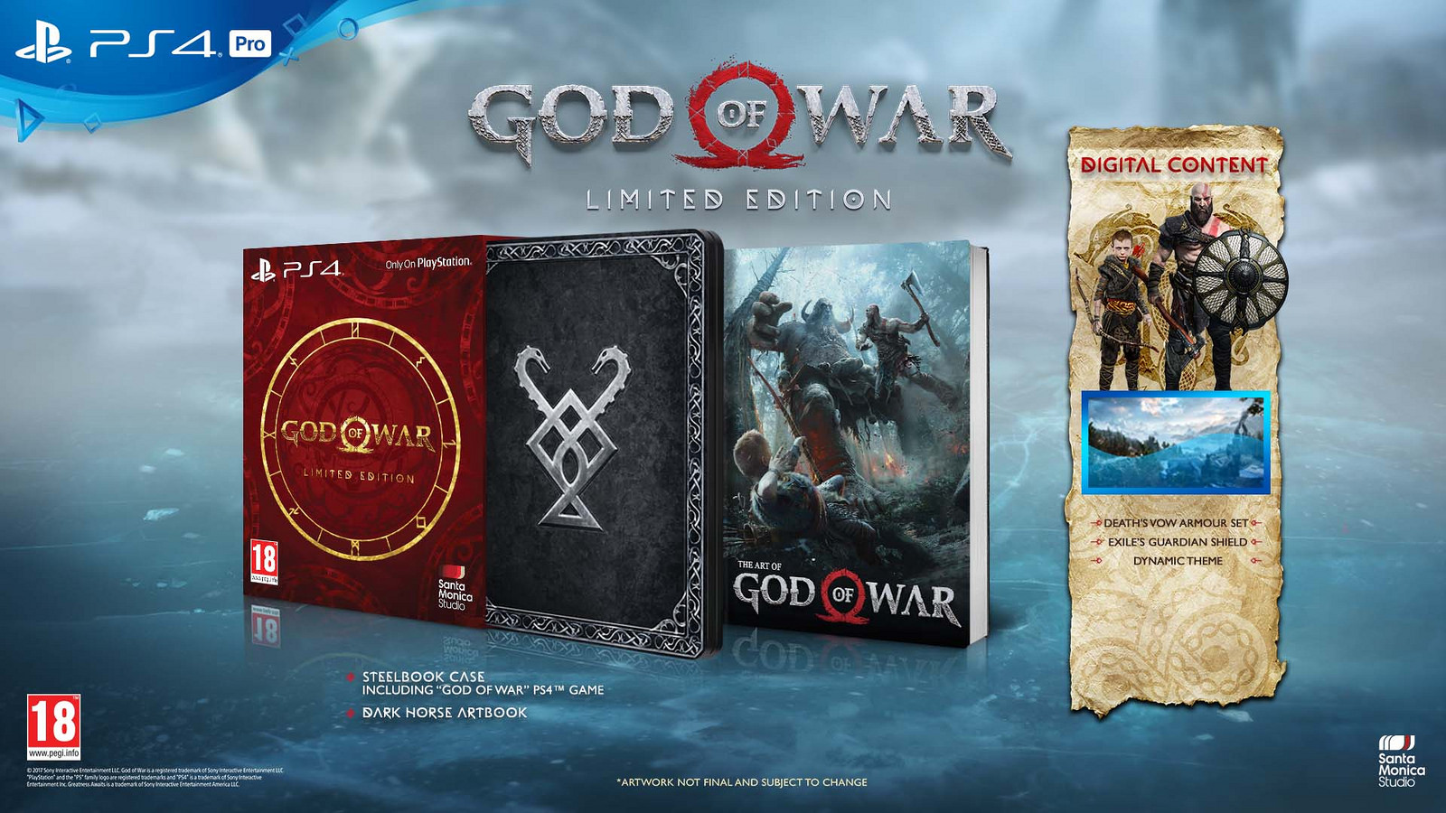 God of War PS4 Story Trailer Released, Release Date Confirmed