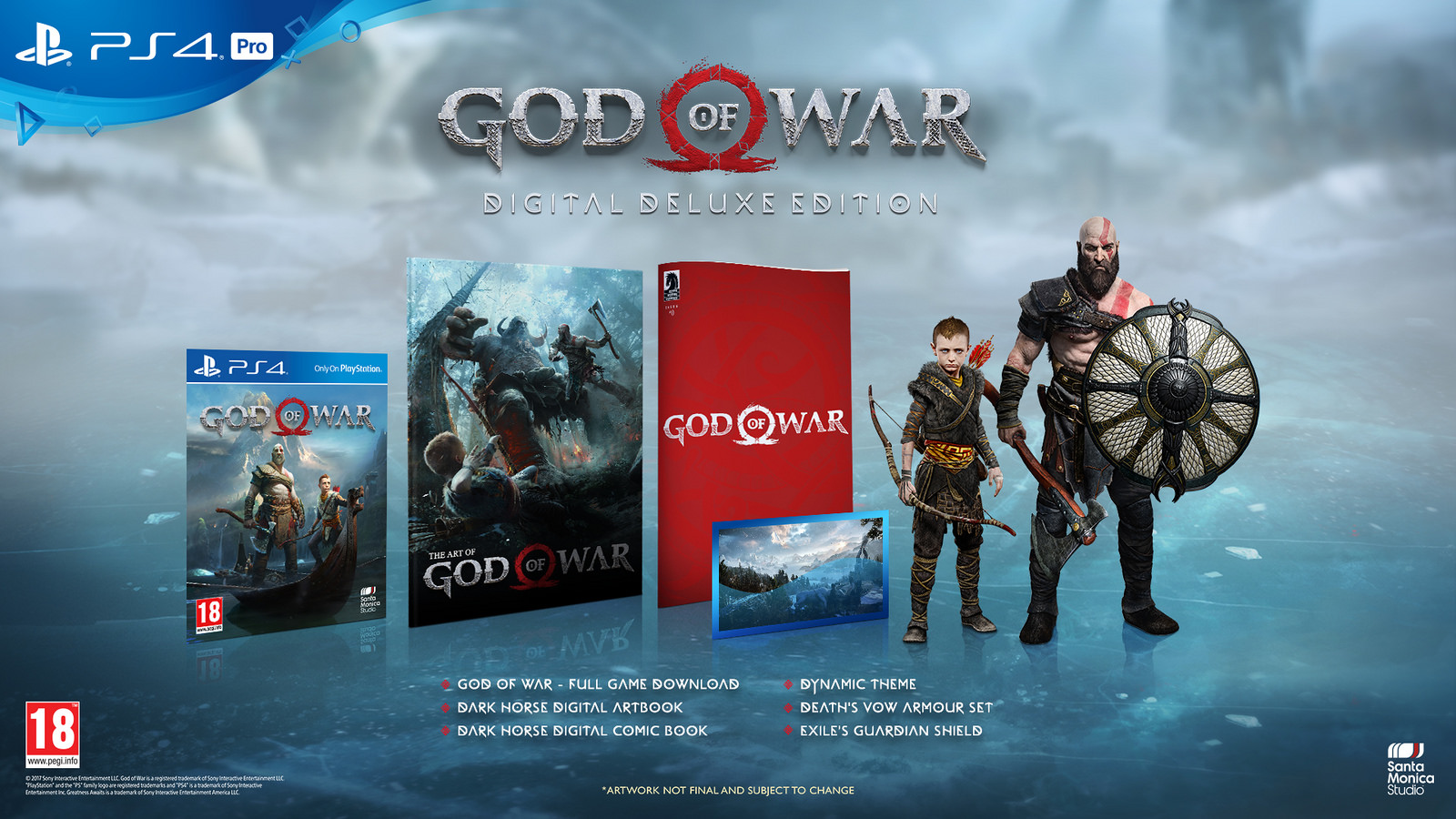 God of War 4 Releases on April 20th
