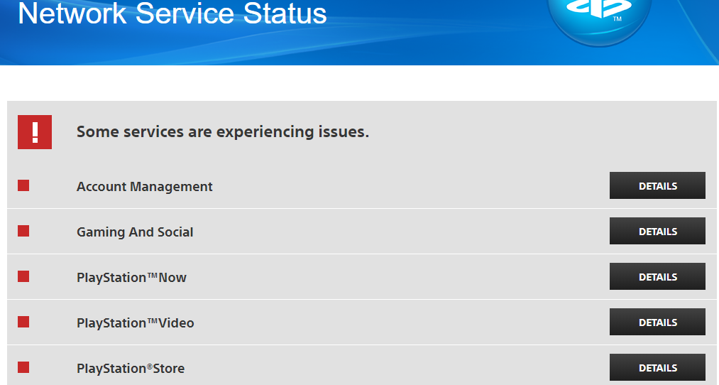 Sony Confirms That PlayStation Network aka PSN Is Down