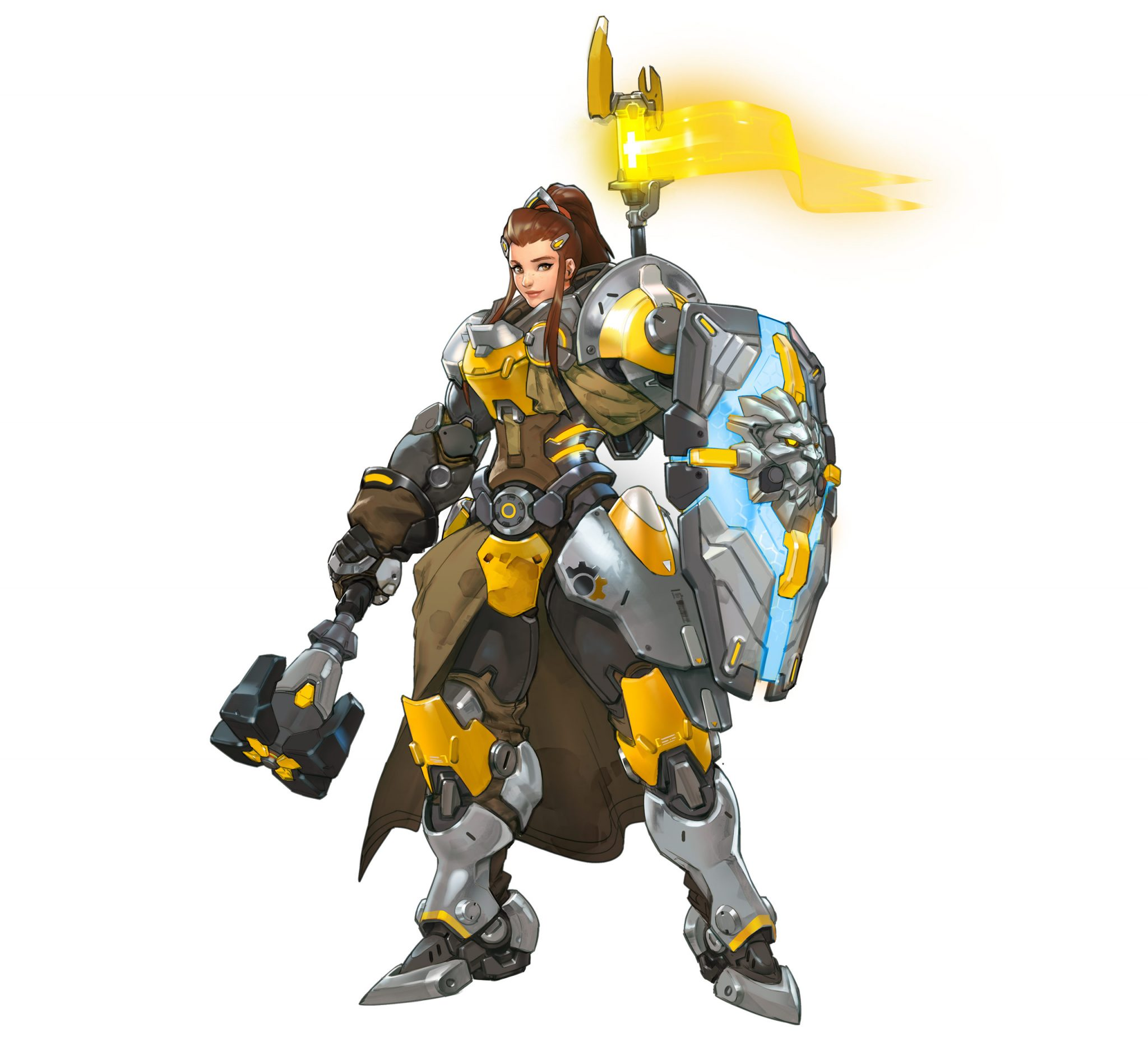 Previews: Brigitte is the Tank-Healer Hybrid I've Been Looking For