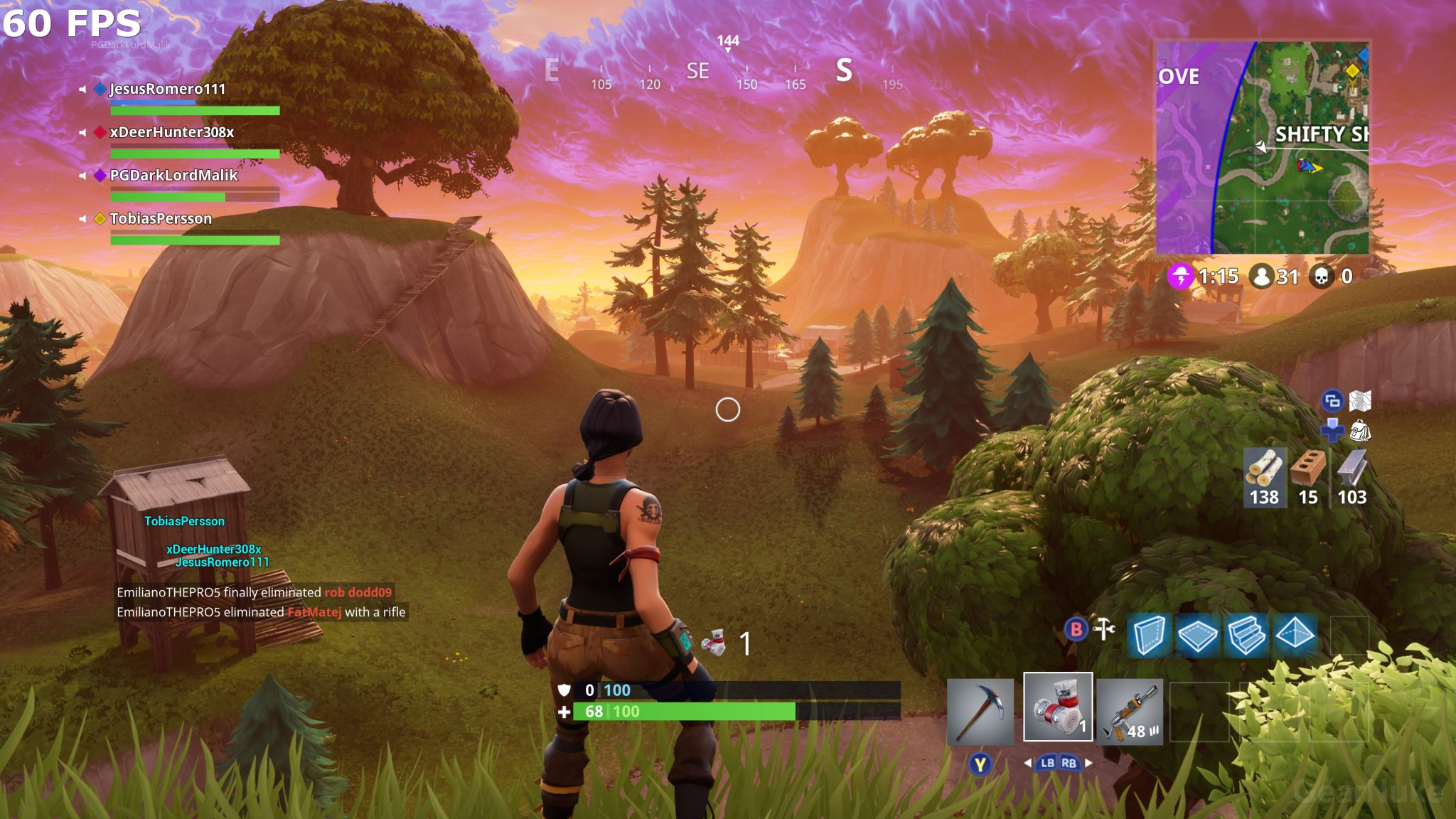 Fortnite Is Stunning At 4K/60 FPS On Xbox One X, Visual Comparison ...