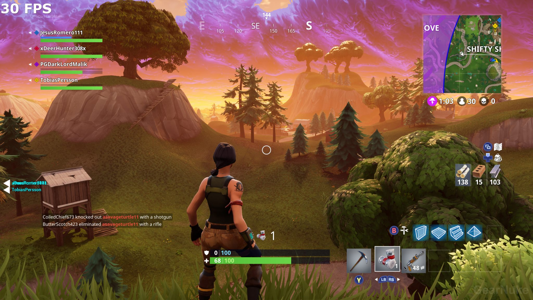 fortnite how to build fast in ps4