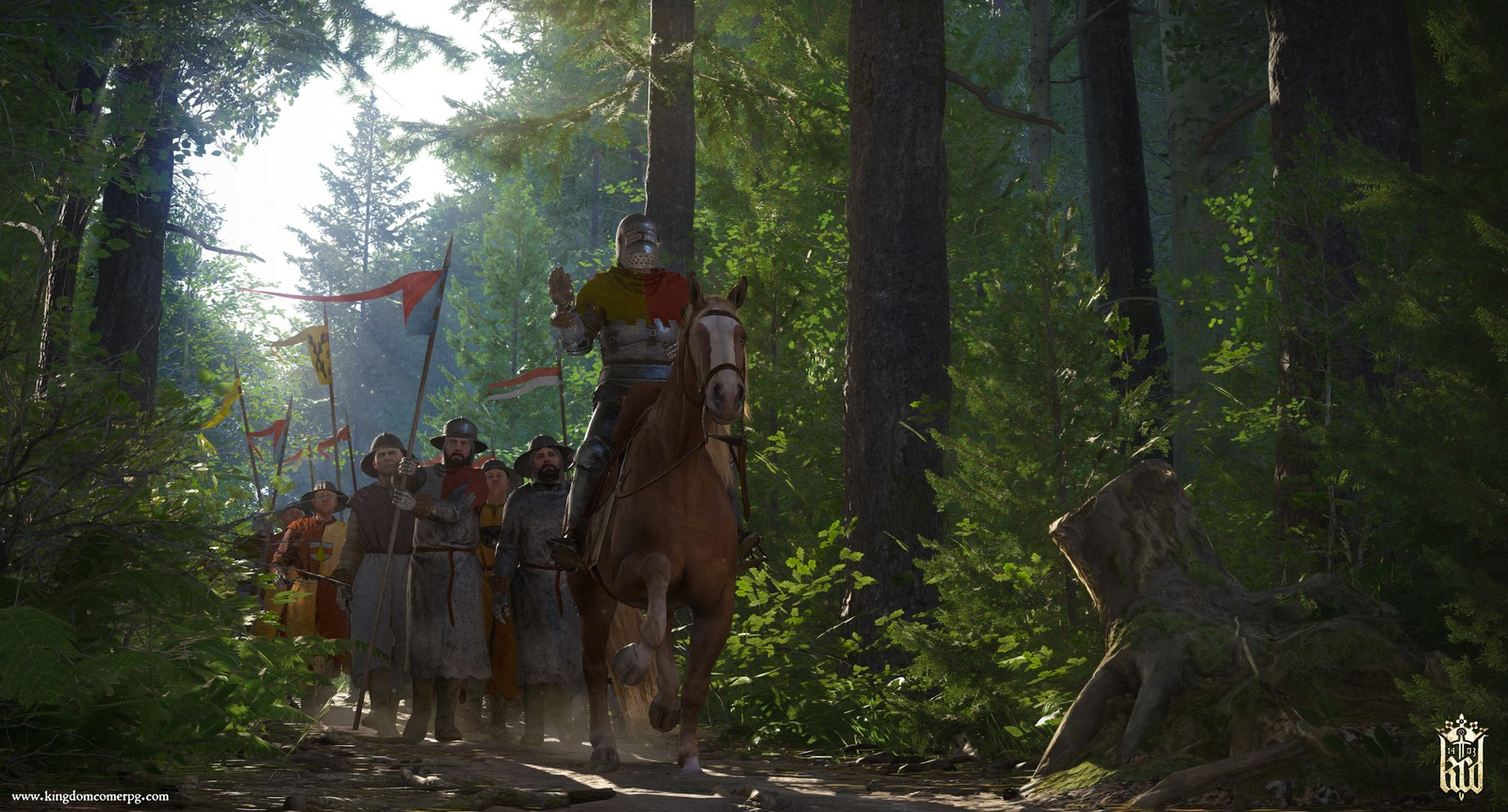 Kingdom Come: Deliverance pre-loading now - Unlock times