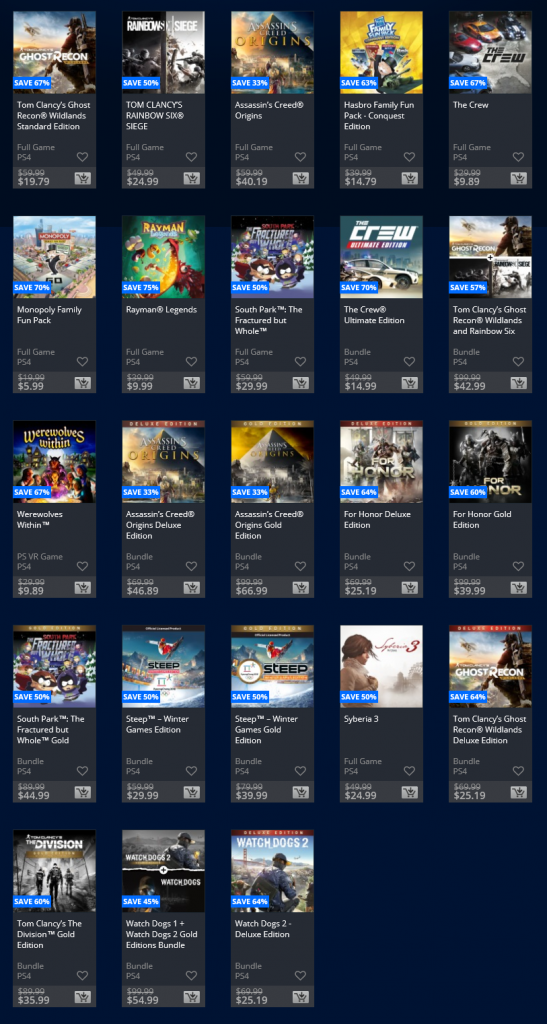 Playstation store deals june 2018