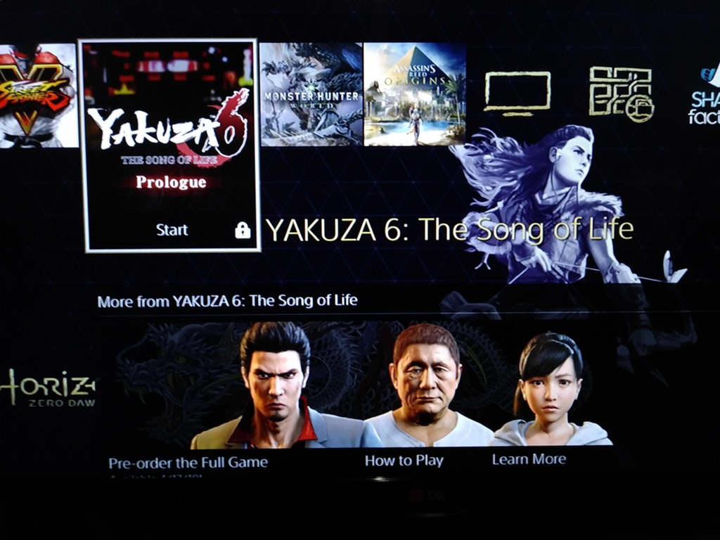The New Demo For PS4's Yakuza 6 Is Huge