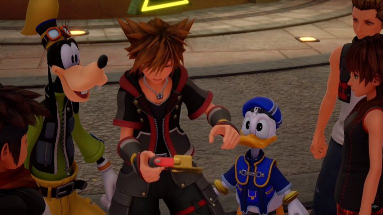 Kingdom Hearts III New Trailer Reveals Game & Watch Style Mini-Games