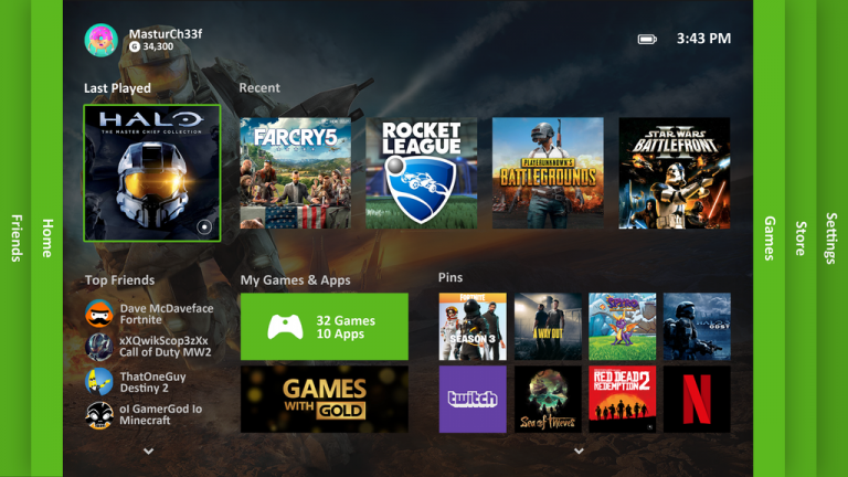 how to bring up xbox 360 dashboard on xbox one