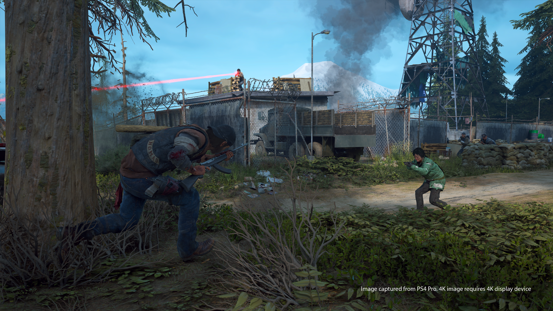 new days gone screenshots show freakers bike riding and more