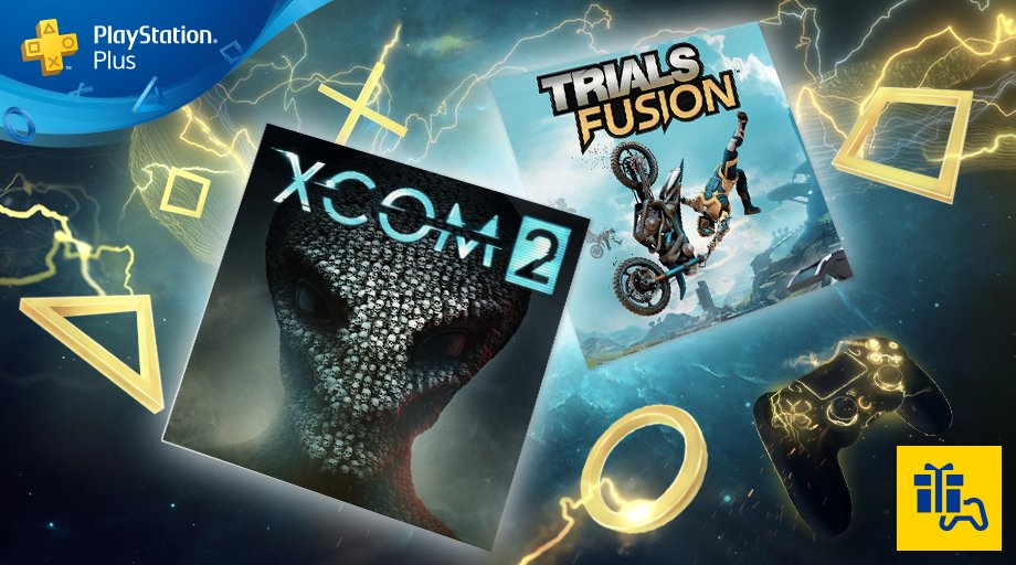 PS Plus Free Games for June 2018: XCOM 2 and Trials Fusion