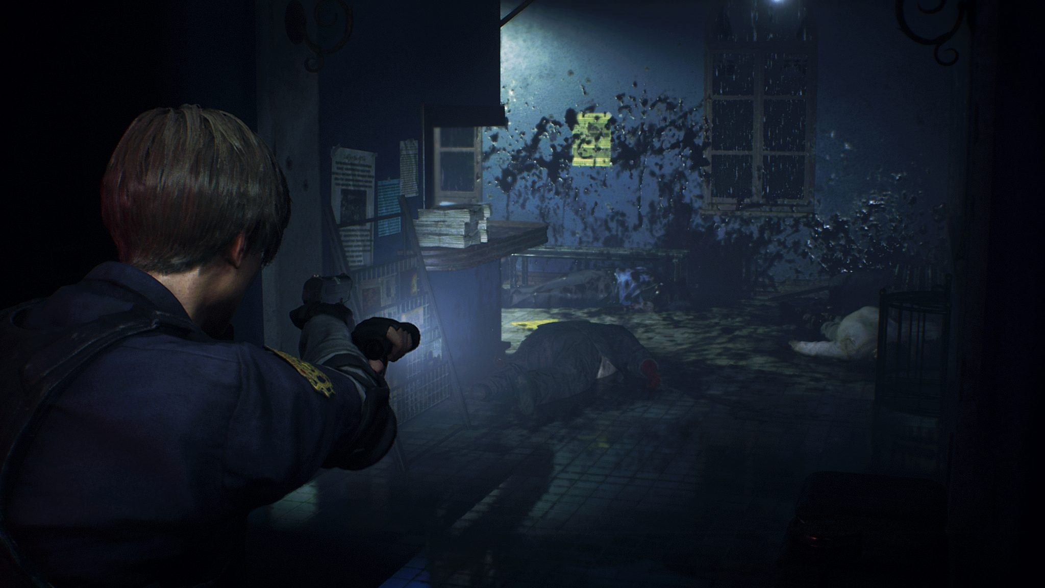 Resident Evil 2 Remake Official 4K Screenshots Give A New ...
