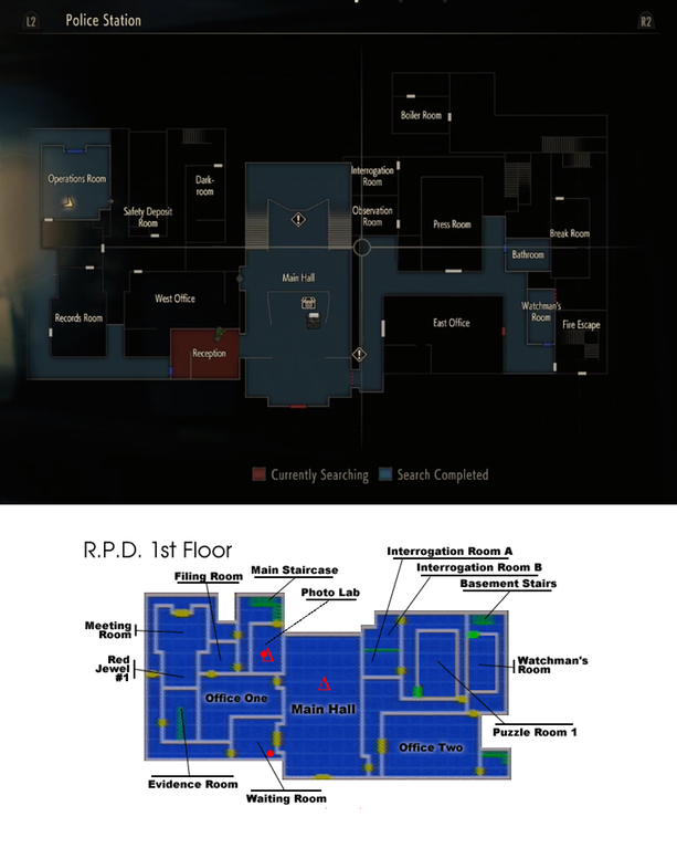 Resident Evil 2 Remake Map Has Been Greatly Expanded Comparison