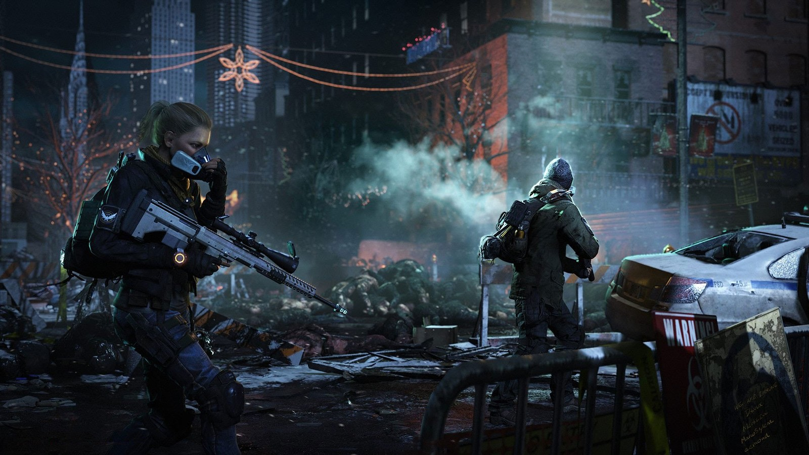 The Division 2 Banner Shows Washington DC Location & New Weapons