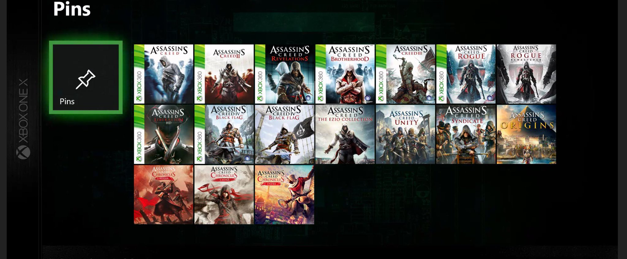 Xbox One Now Has The Entire Assassin S Creed Series Playable And More