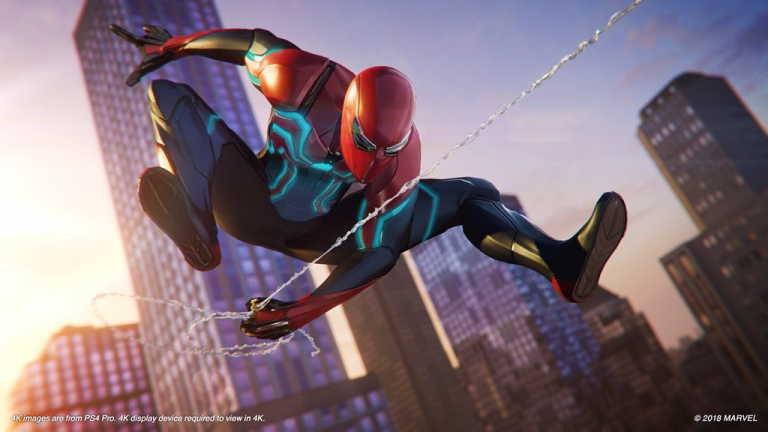 SDCC 2018: Marvel's Spider-Man PS4 Pro Bundle & Story Trailer Revealed