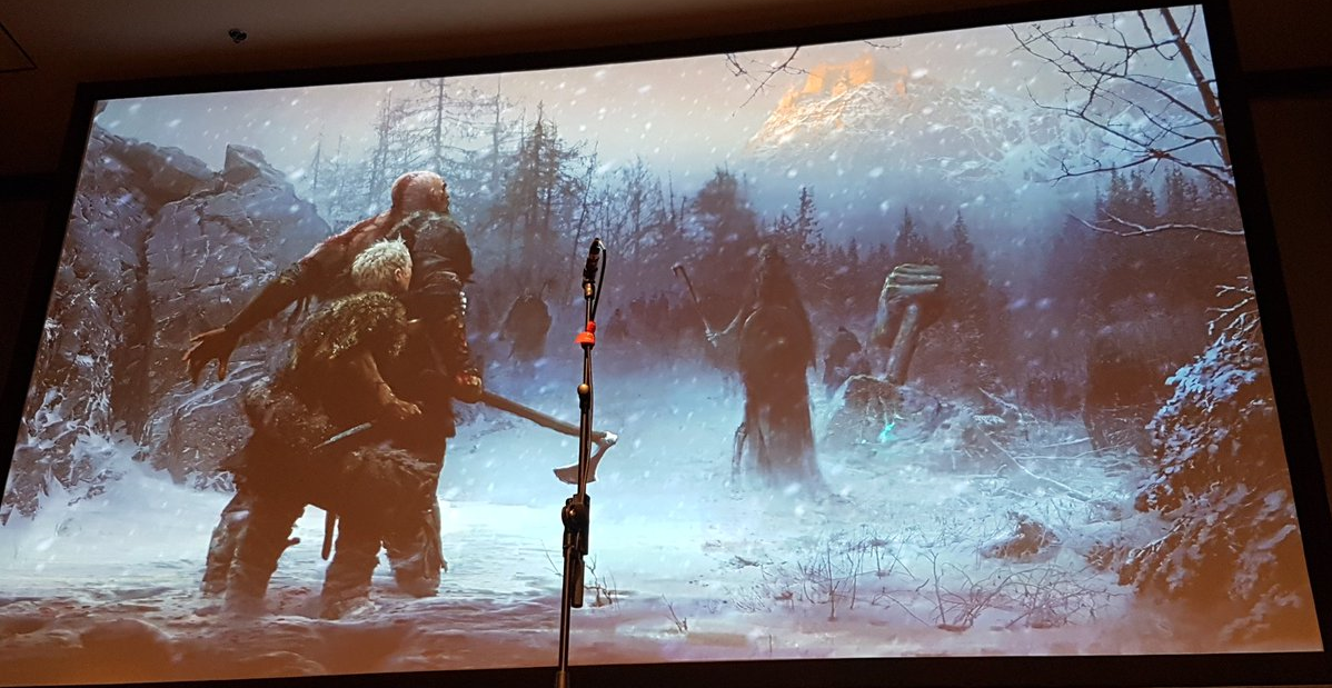 God Of War concept art shows original Egyptian setting