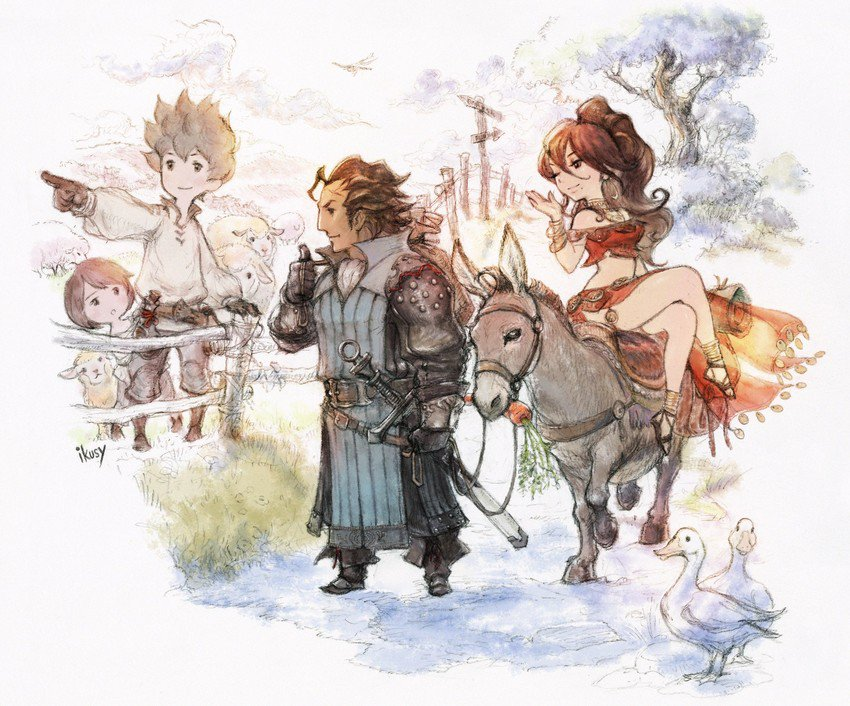Octopath Traveler Passes 1 Million Sales