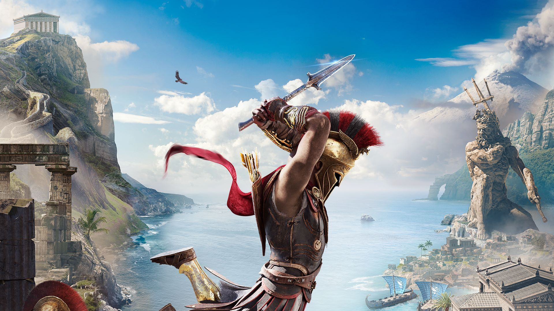 Assassin S Creed Odyssey 4k Resolution Limit Revealed For Ps4 Pro And Xbox One X