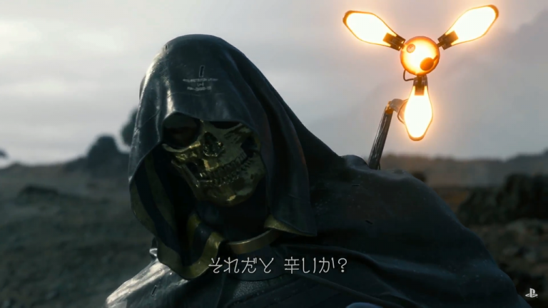 New Death Stranding trailer shows Troy Baker's character, new monster