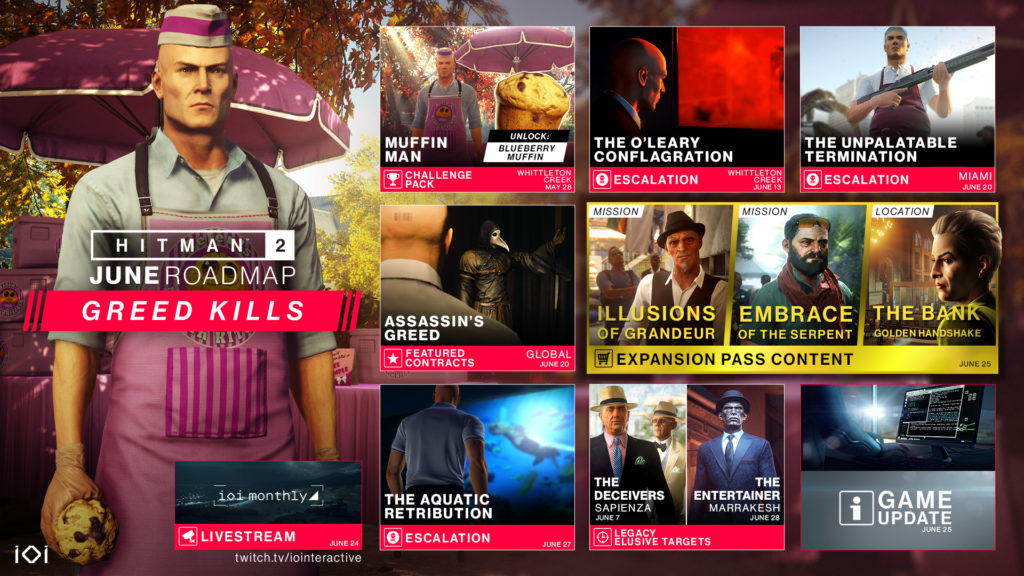 Hitman 2 Update Version 1 15 Full Patch Notes Ps4 Xbox One Pc