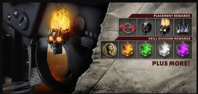 In game cosmetic rewards can now be received when playing league play in update 1.19
